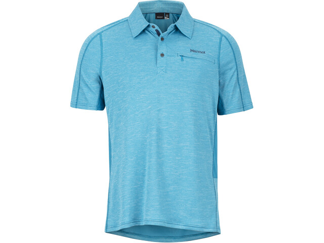 Marmot Drake SS Polo Herren turkish tile